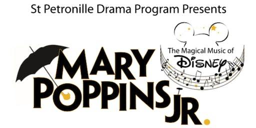 Mary Poppins Jr. - Saturday, 11/16