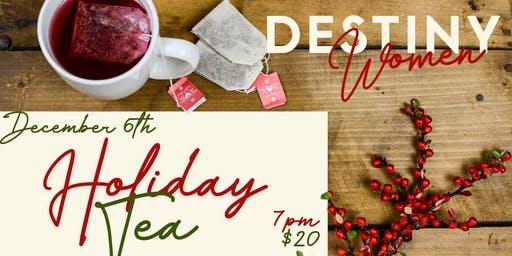 Destiny Church Marshfield Tea