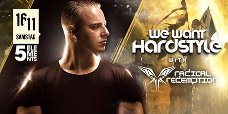 WE want Hardstyle with Radical Redemption + Sprinky Tickets