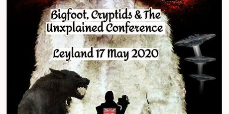 Bigfoot, Cryptids and The Unexplained tickets