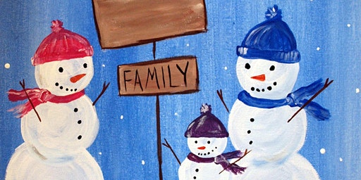 Snowman Family at Danny Boys