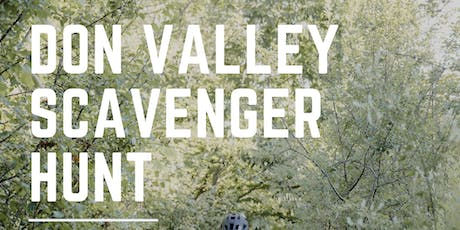 Don Valley Scavenger Hunt tickets