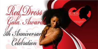 Red Dress Gala Awards 5 Year Anniversary