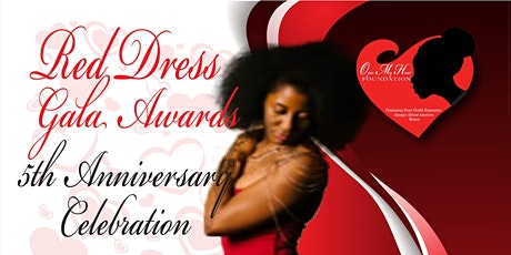 Red Dress Gala Awards 5 Year Anniversary tickets
