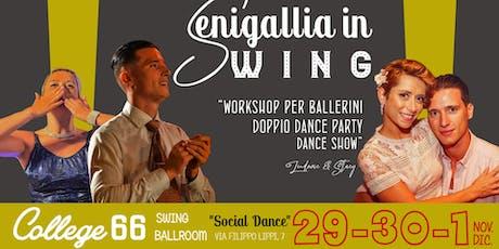 Senigallia in Swing | 29 Novembre biglietti