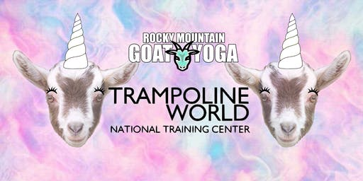 Unicorn Yoga - October 27th (Trampoline World Gymnastics)