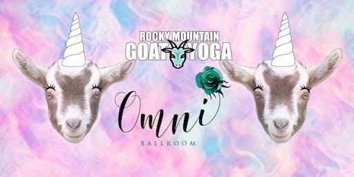 Unicorn Yoga - October 26th (Omni Ballroom)