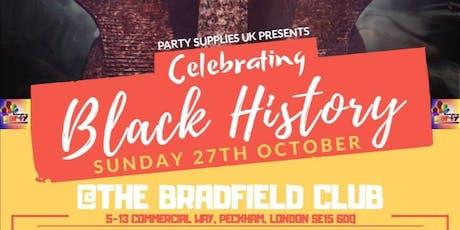Celebrating Black History tickets