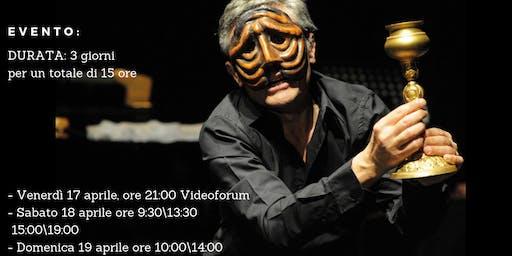 """Stage di alta formazione Michele Monetta """"MASCHERE E COMMEDIA DELL'ARTE"""""""