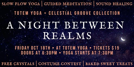 A Night Between Realms tickets