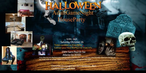 AdultGameNight Halloween HouseParty