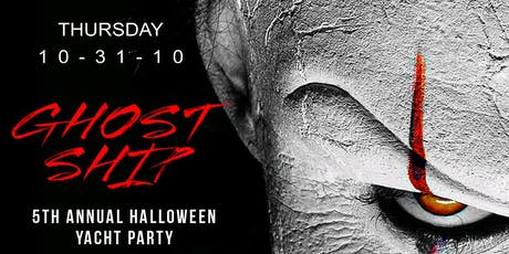 Halloween On The Water Annual Halloween Yacht Party NYC tickets