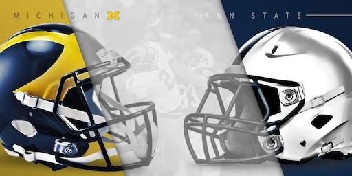 Michigan vs. Penn State Football Watch Party