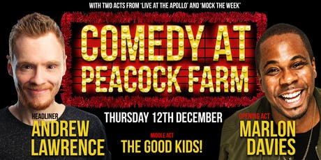 Comedy at Peacock Farm tickets