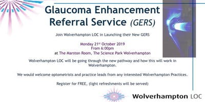 Glaucoma Enhancement Referral Service - The Launch