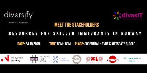 Meet the Stakeholders: Resources Available for Skilled Immigrants in Norway