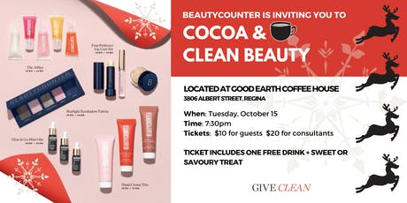 Cocoa and Clean Beauty tickets