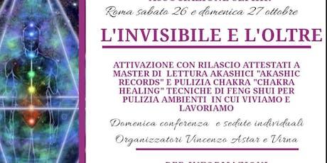 L'Invisibile e l'Oltre biglietti