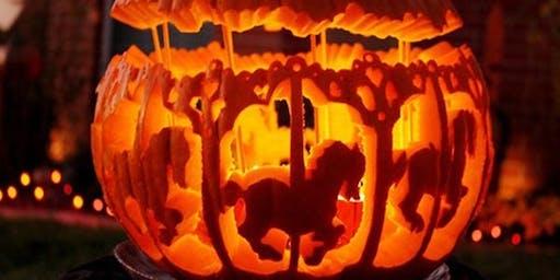 Halloween Pumpkin Art and Craft for Children