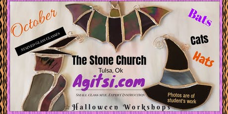 Halloween Stained Glass Make N Take Class by Glass tickets