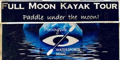 FULL MOON KAYAK tour at Morningside Watersports tickets