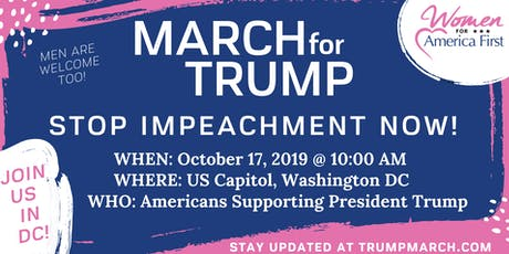 March for Trump tickets