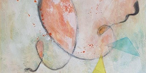 Malen aus dem Bauch - mit Birgit Jaskolla