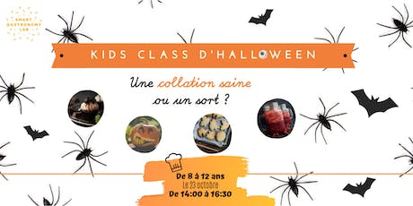 [Kids Class Halloween] Des collations saines ou un sort? billets
