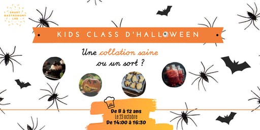 [Kids Class Halloween] Des collations saines ou un sort?