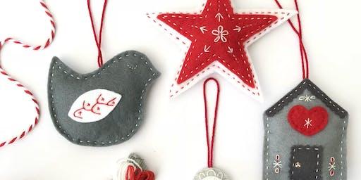 Scandi-style Christmas Decorations