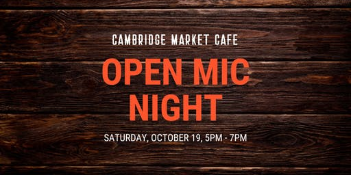 Open Mic Night at the Market