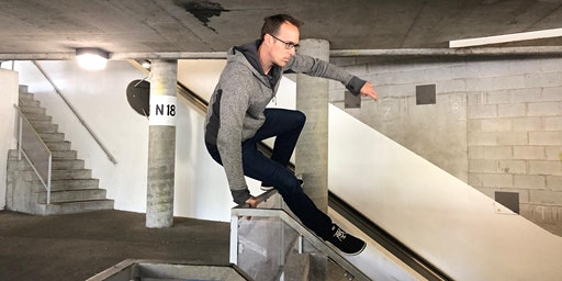 Wednesday Parkour with Ian Schwartz: Drop-In Community Class