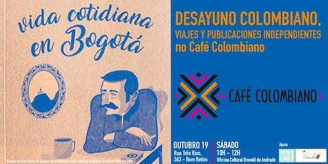 Café da Manhã na Colômbia sem sair de São Paulo ingressos