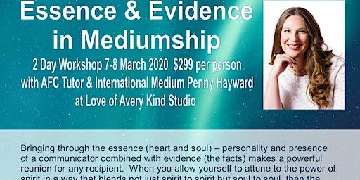 Essence & Evidence in Mediumship with  UK Medium Penny Hayward