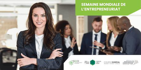 Session d'information Windsor - Semaine mondiale de l'entrepreneuriat 2019 tickets