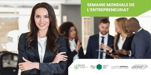 Session d'information - Semaine mondiale de l'entrepreneuriat 2019