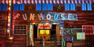 Funhouse Haunted House Attraction Maze