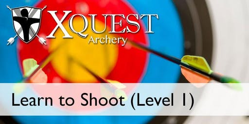(JAN)Archery 6-week lesson Learn to Shoot Level 1 - Tuesdays @ 6pm [NO1-T6]