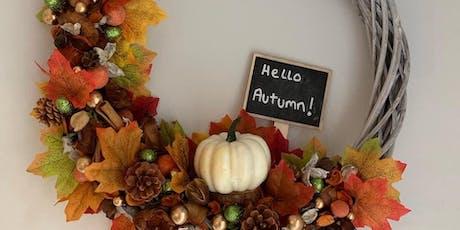 Hello Autumn Wreath Making Workshop tickets