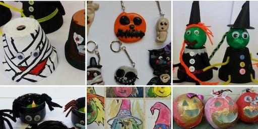 Krafty Kids special Halloween for children ages 4+