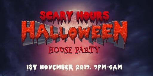 SCARY HOURS HALLOWEEN PARTY