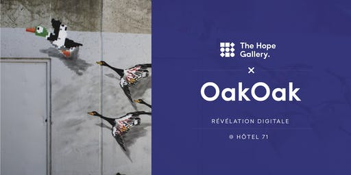 The Hope Gallery x OakOak - Révélation digitale @Hôtel 71