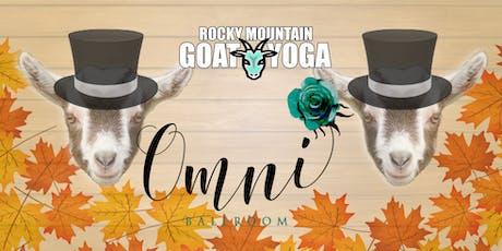 Goat Yoga - November 9th (Omni Ballroom) tickets