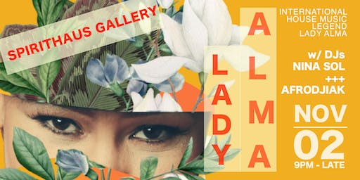 Lady Alma Live at Spirithaus Gallery
