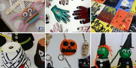 Krafty Kids special Halloween for children ages 7+ tickets