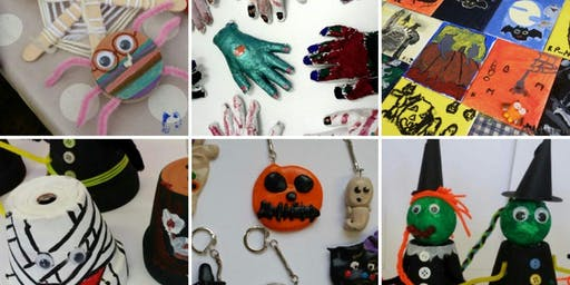 Krafty Kids special Halloween for children ages 7+