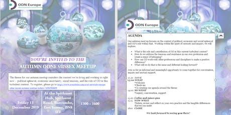 OD Network Europe (ODNE) Sussex Autumn Meetup tickets