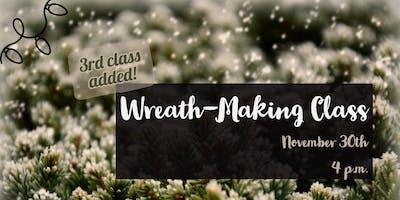 Handmade Evergreen Wreath-Making Class
