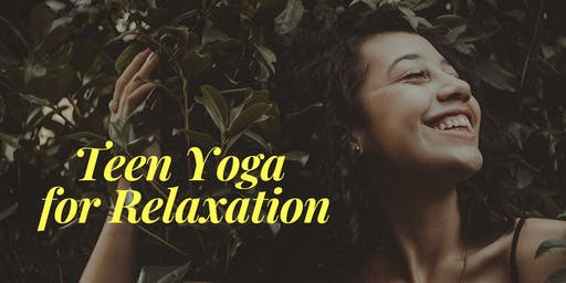 Teen Yoga for Relaxation