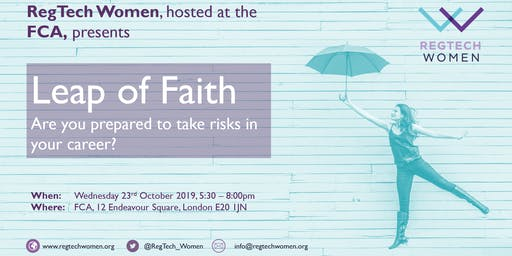 Leap of Faith: Are you prepared to take risks in your career?